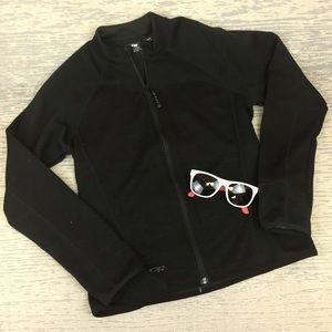 Like New Outdoor Research Black Zip Jacket